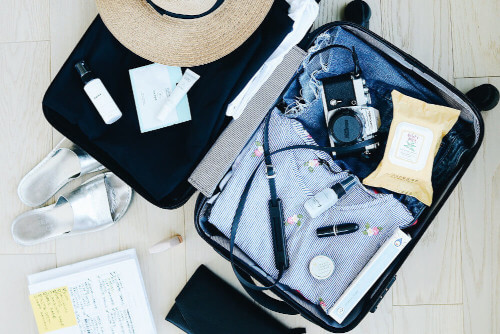 soczewki w bagażu podręcznym