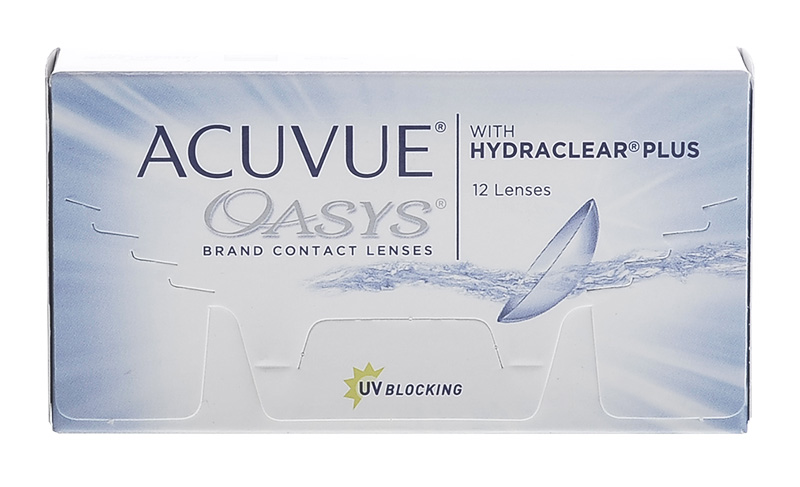 Acuvue® Oasys z Hydraclear® Plus 12 szt.