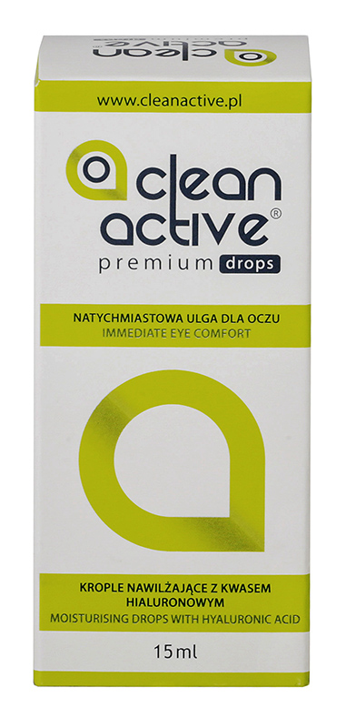 Clean Active Premium Drops 15 ml + krople GRATIS! (do 2 op.)