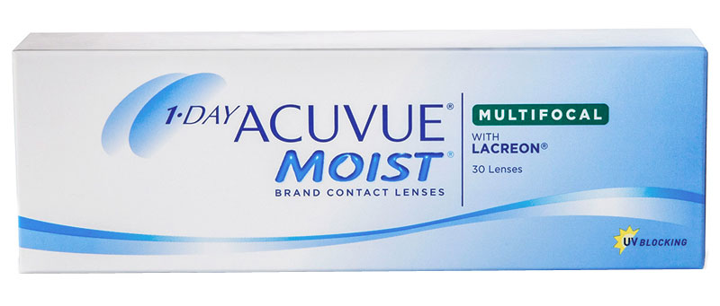 1-DAY ACUVUE® MOIST MULTIFOCAL 30 szt. + krem GRATIS! (do 2 op.)