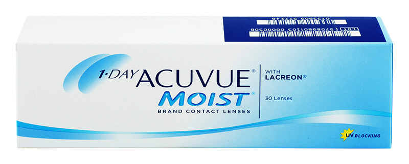 Acuvue 1-DAY Moist 30 szt. + Cashback 10zł GRATIS! (do 2 op.)