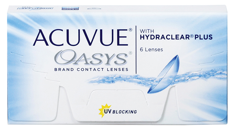 Acuvue Oasys z Hydraclear Plus 6 szt.