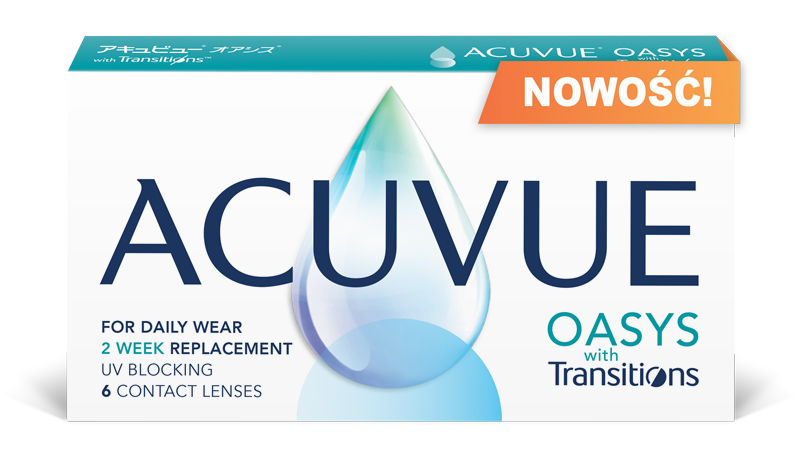 ACUVUE® OASYS with Transitions™ - NOWOŚĆ