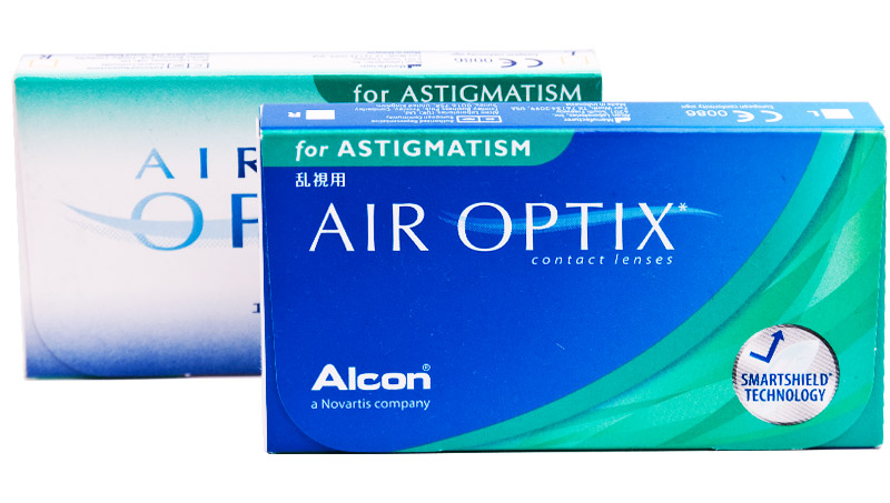 Air Optix® for Astigmatism 6 szt. + CashBack 10zł GRATIS! (do 2 op.)
