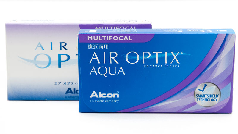 Air Optix® Aqua Multifocal 3 szt. NIŻSZA CENA! + CashBack 10 zł GRATIS! (do 2 op.)