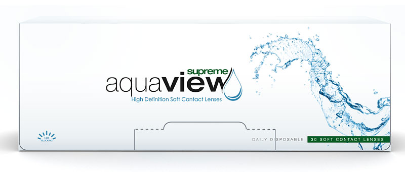 AquaView Daily Supreme 180 szt.