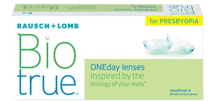 Biotrue® ONEday for Presbyopia 30 szt. + płyn GRATIS!