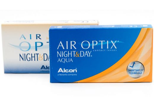 Air Optix® Night & Day® Aqua 3 szt.