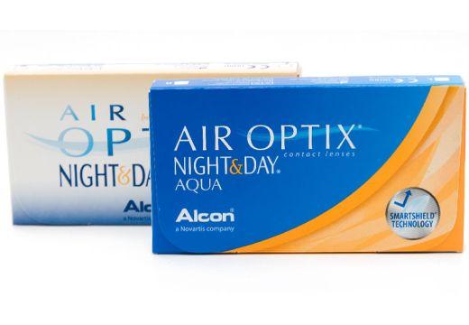 Air Optix® Night & Day® Aqua 6 szt.