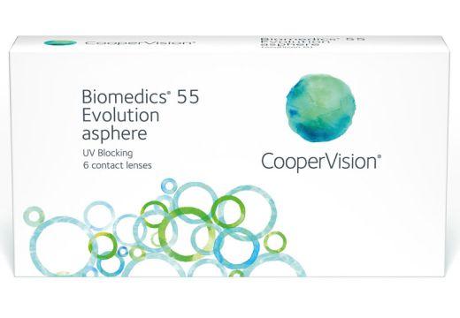 Biomedics 55 Evolution™ - moce dodatnie
