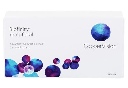 Biofinity® Multifocal 3 szt. typ D