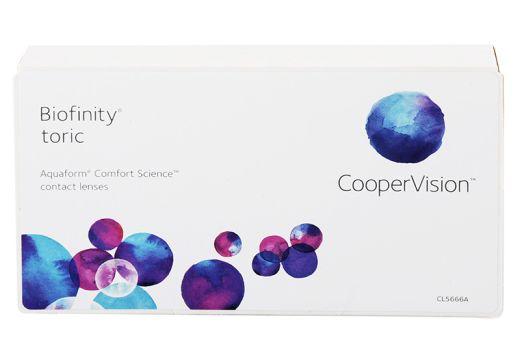 Biofinity® Toric 3 szt.