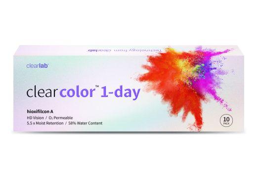 Clearcolor 1-Day 10szt. - zerówki