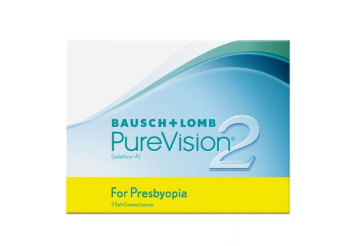 PureVision® 2 HD for Presbyopia (Multifocal) 3 szt.