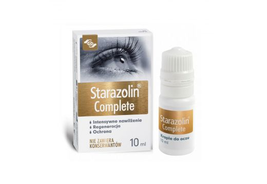 Starazolin Complete krople do oczu 10 ml