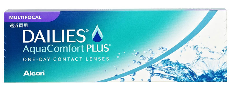 Dailies® AquaComfort Plus® Multifocal 30 szt. + CashBack 10 zł GRATIS! (do 2 op.)