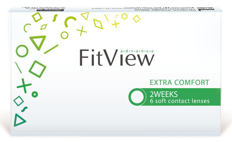 FitView Advance 2 weeks 6 szt. + Kubek GRATIS! (do 2 op.)