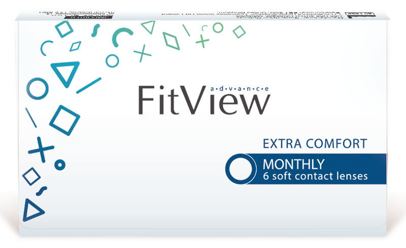 FitView Advance Monthly 6 szt.