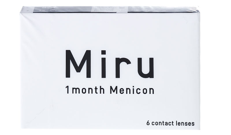 Miru 1month 6 szt. + Płyn GRATIS! (do 2 op.)