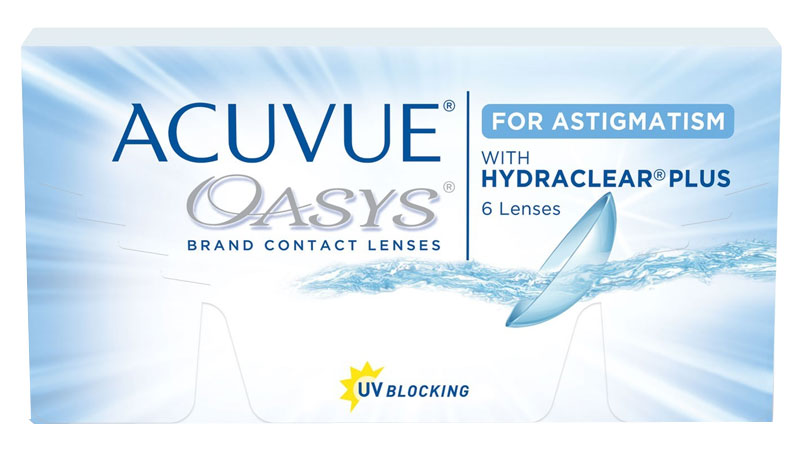 ACUVUE® OASYS for ASTIGMATISM 6 szt. + krem GRATIS! (do 2 op.)