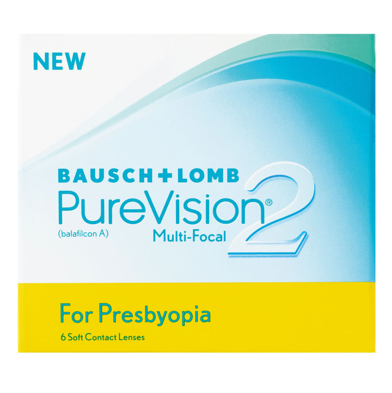 PureVision® 2 HD for Presbyopia (Multifocal) 6 szt. + płyn GRATIS!