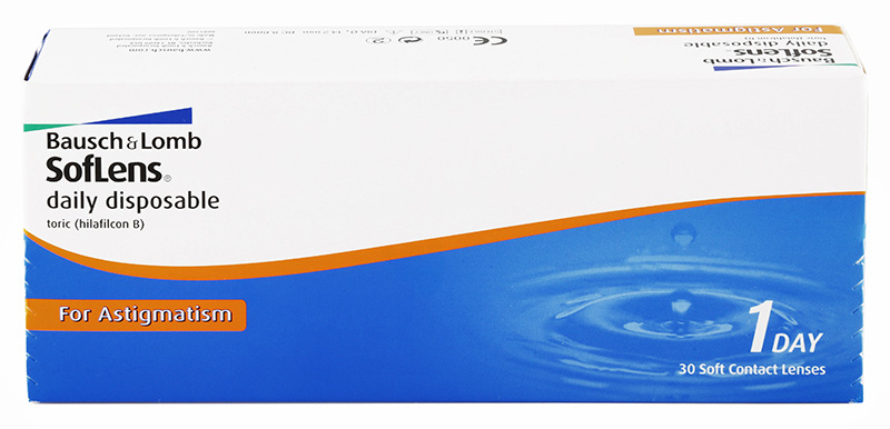 SofLens Daily Disposable Toric for Astigmatism 30 szt.