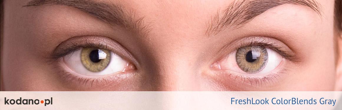soczewki szare FreshLook ColorBlends - 1 osoba