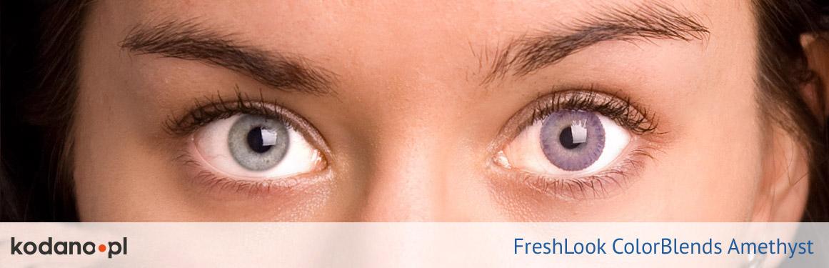 soczewki ametystowe FreshLook ColorBlends - 2 osoba