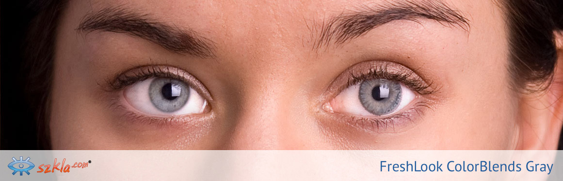 soczewki szare FreshLook ColorBlends - 2 osoba