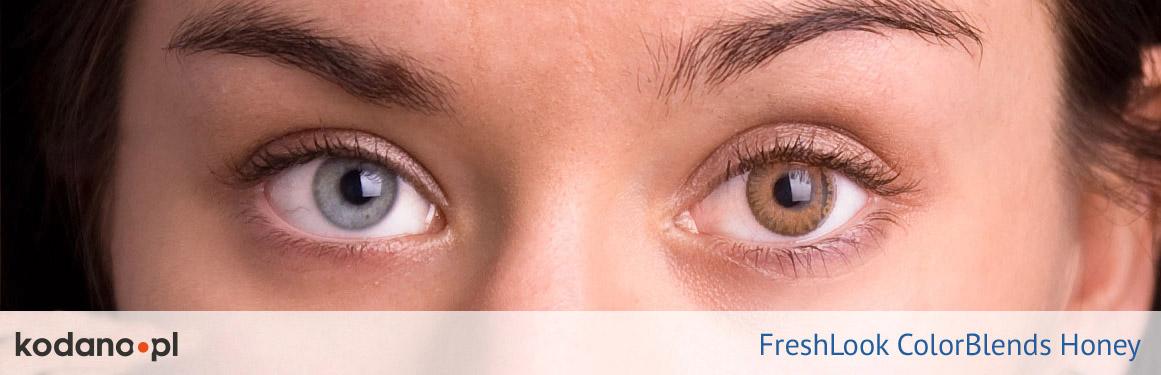 soczewki miodowe FreshLook ColorBlends - 2 osoba