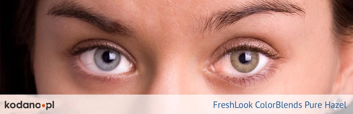 soczewki piwne FreshLook ColorBlends - 2 osoba