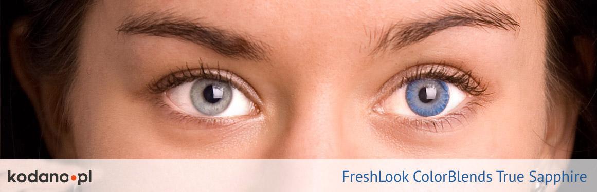 soczewki szafirowe FreshLook ColorBlends - 2 osoba