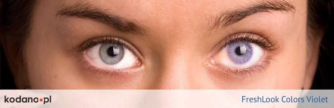 soczewki fioletowe FreshLook Colors - 2 osoba