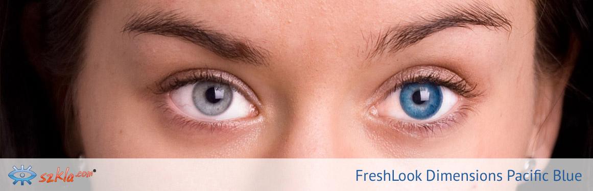 soczewki Pacific Blue FreshLook ColorBlends - 2 osoba