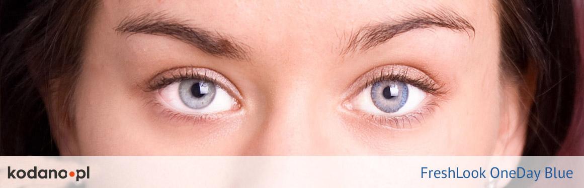 soczewki niebieskie FreshLook One Day - 2 osoba