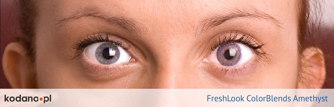 soczewki ametystowe FreshLook ColorBlends - 3 osoba