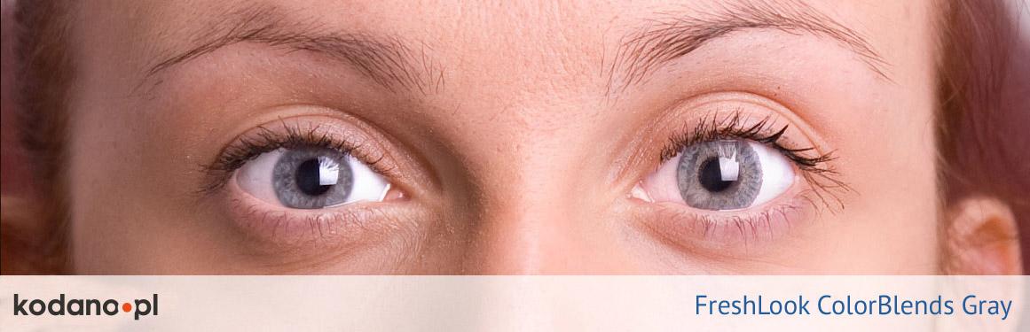 soczewki szare FreshLook ColorBlends - 3 osoba