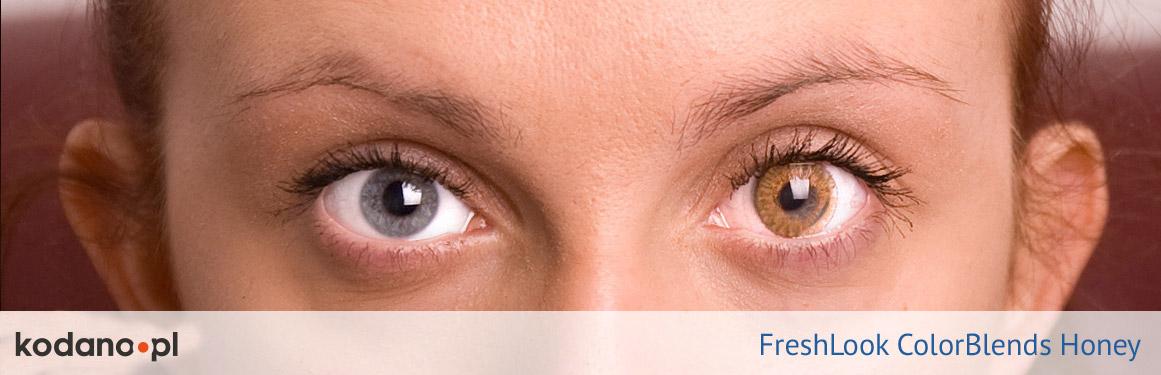 soczewki miodowe FreshLook ColorBlends - 3 osoba