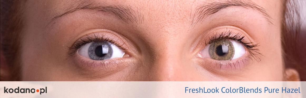soczewki piwne FreshLook ColorBlends - 3 osoba