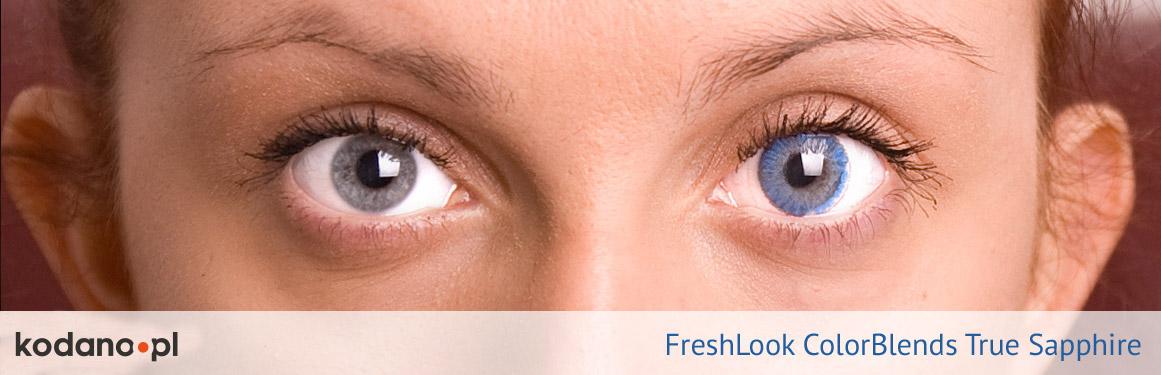 soczewki szafirowe FreshLook ColorBlends - 3 osoba