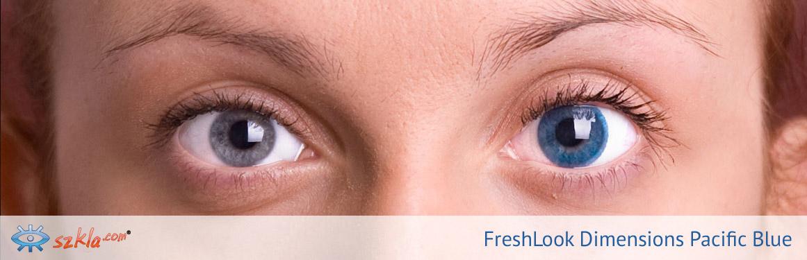 soczewki Pacific Blue FreshLook ColorBlends - 3 osoba