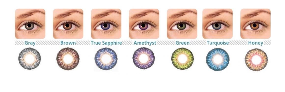 soczewki kolorowe AquaView Color