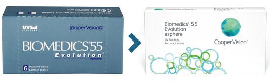 Soczewki Biomedics 55 Evelutions