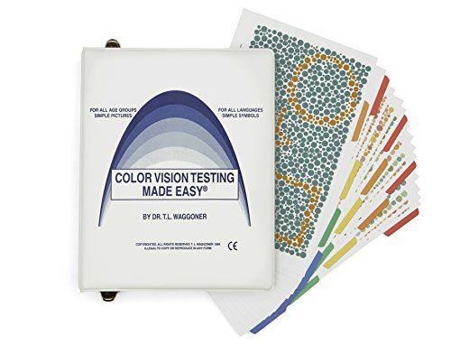 tablice do badania widzenia barwnego u dzieci